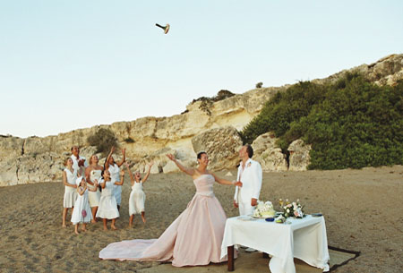 Planet Holidays A Stunning Beach Wedding In Cyprus