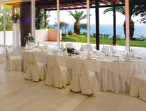Wedding reception at Grecian Sands Hotel, Ayia Napa, Cyprus