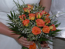 Wedding flowers, Skiathos