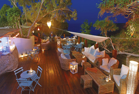 Planet Holidays The Stylish Cliff Bar At Grecian Park Hotel One Of Our Wedding Venues