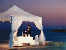 Romantic dinner for two at the Amathus Beach Hotel, Limassol, Cyprus
