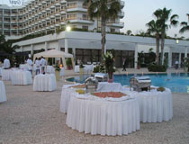 Wedding reception at Grand Resort Limassol, Cyprus