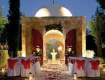 The chapel grotto at Le  Meridien