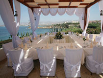 Wedding reception at Cynthiana Beach Hotel, Paphos, Cyprus