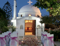 The pretty chapel at the Golden Coast Hotel
