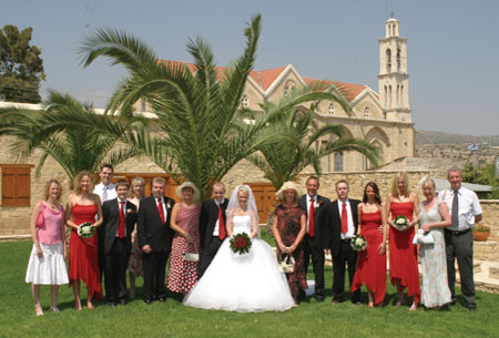 Wedding at Yermasoyia Town Hall, Cyprus