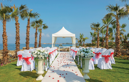 This New Wedding Venue Welcomes Couples To Exchange Their Vows In One Of The Most Idylic Settings Area Cyprus Indeed Olympic Lagoon Resort