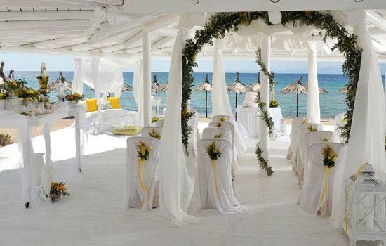 We Are Delighted To Introduce The 5 Star IlioMare A Luxurious Wedding Venue That Boasts Prime Beachfront Location On Beautiful Island Of Thassos